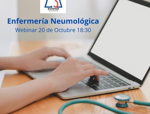 Webinar Enfermería Neumológica (20 Octubre 18:30)