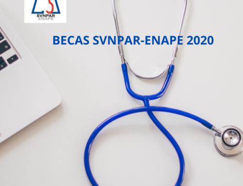 Abierto el plazo de solicitud de las Becas SVNPAR-ENAPE 2020